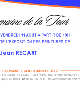 Vernissage Jean Recart
