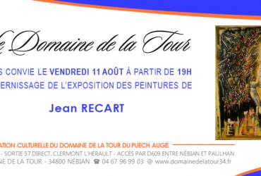 Vernissage Jean Recart