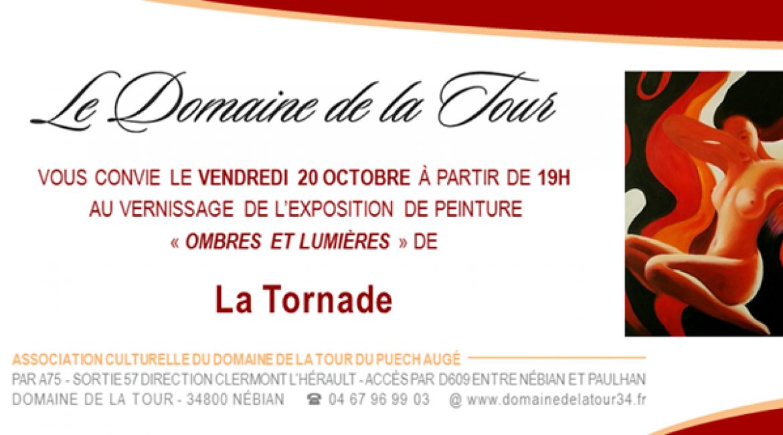 Vernissage de La Tornade