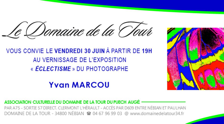 Vernissage Yvan Marcou