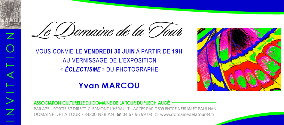 Vernissage Yvan Marcou
