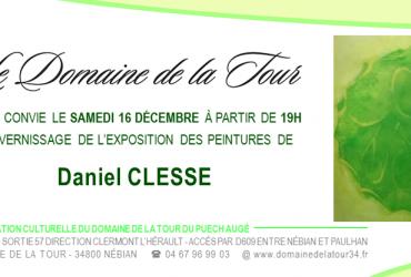 Vernissage de Daniel CLESSE