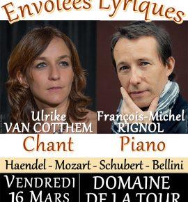 Concert le 16 mars : Envolées lyriques…