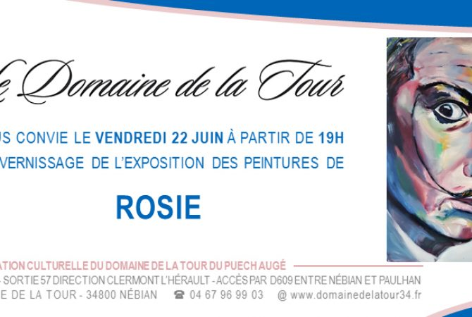 Vernissage le 22 juin