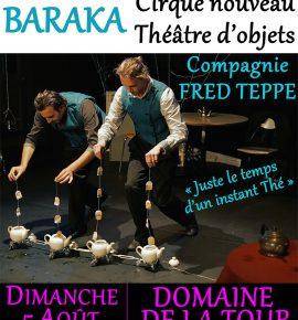 Le 5 août 2018 : Cirque nouveau / Théâtre d'objets