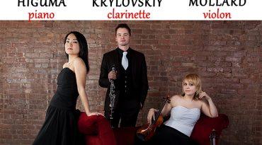 Mercredi 15 août concert Le Trio Zodiac