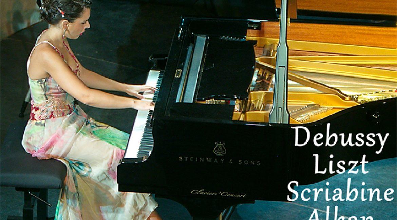 Le 9 septembre, récital de piano avec Stéphanie Elbaz