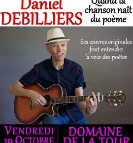 Le 19 octobre Daniel DEBILLIERS, quand la chanson naît du poème