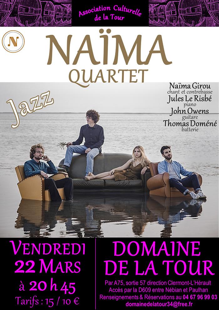 Concert Jazz le 22 mars 2019