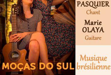 Concert musique brésilienne, vendredi 26 avril 2019