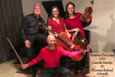 Concert de musique de chambre le vendredi 14 juin à 20h45