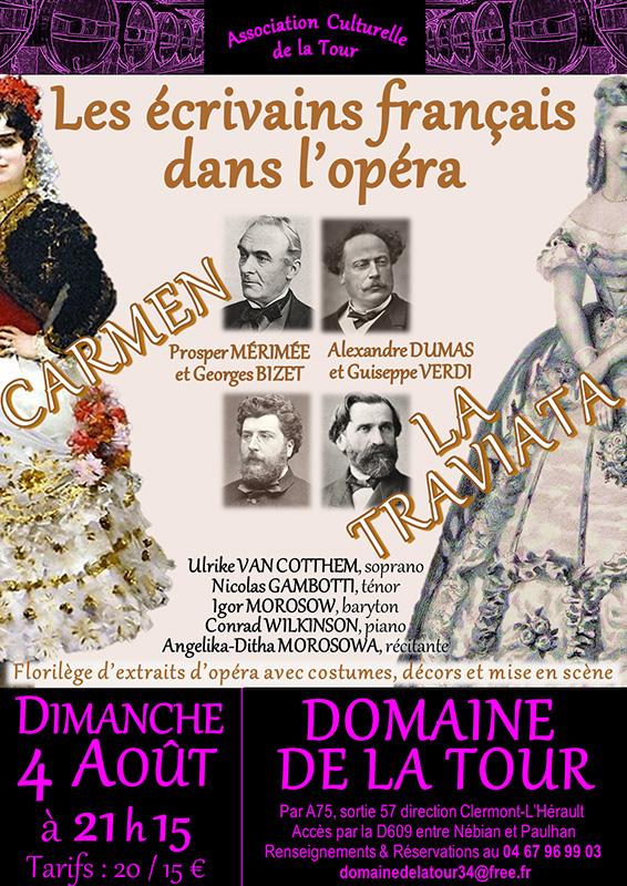 Soirée Opéra le dimanche 04 août