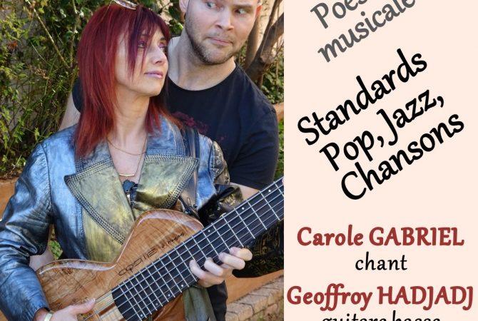 Concert du Duo Gabriel Vendredi 13 mars 2020 à 20h45