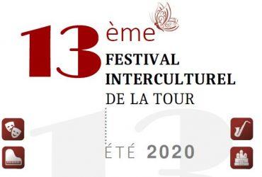 13ème Festival interculturel de la Tour, été 2020