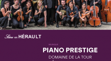 Concert  avec Hérault Culture Festival «Piano Prestige» le samedi 17 octobre 2020 à 20h00