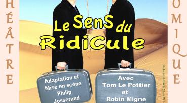 Théâtre comique le dimanche 1er août 2021 : Le sens du ridicule